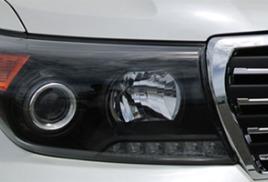 Покраска фар в черный Toyota Land Cruiser 200